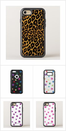Otterbox Phone Cases Designed by Purple Cat Arts